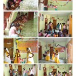Familien Retnakumar fejrer bryllupsdagen med pigerne fra