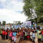 Nødhjælp til børnene ramt af oversvømmelse