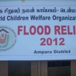 VBVO´s nødhjælp til Amparai Distrikt