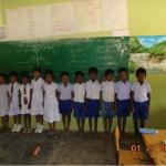 VBVOs indsats mod fejlernæring af tamilske børn