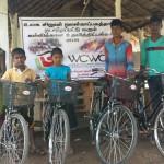 VBVO donerer cykler til børn