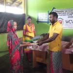 Donation til 10 fattige børnefamilier i Amparai - Hjælp til Selvhjælp