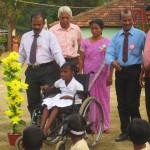 Kørestole fra VBVO giver håb for en bedre fremtid