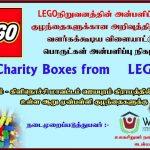 VBVO leverer LEGO's charity kasser til børn på Sri Lanka